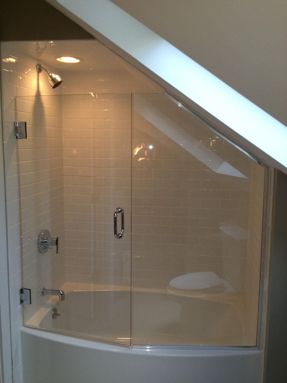 Heavy Glass Shower Enclosures - hourglasscompany.com